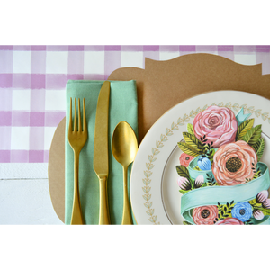 Spring Floral Table Accents