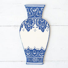 China Blue Vase Table Accent
