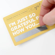 Words of Kindness Scratch off cards