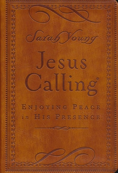 Jesus Calling Leather Devotional