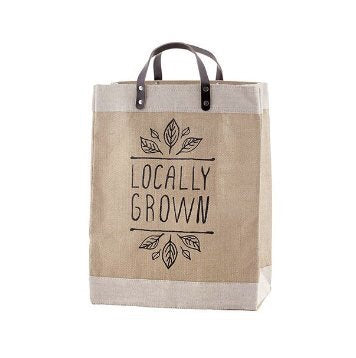 Locally Grown Jute Tote