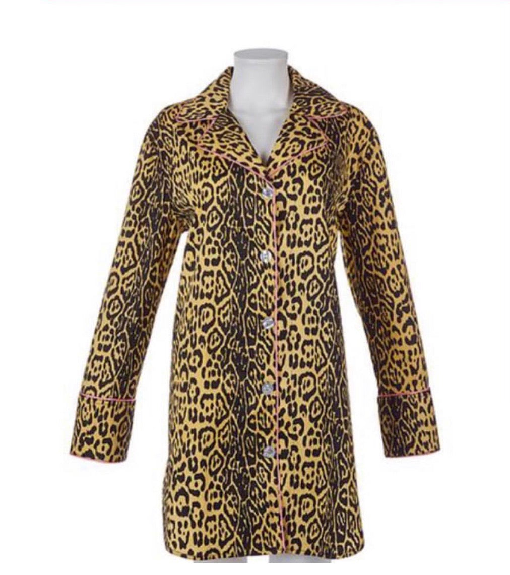 Leopard Night Shirt PJs