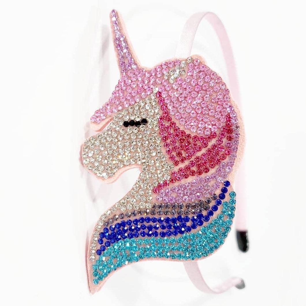 Unicorn Crystal Headband