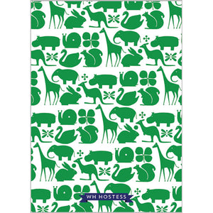 Preppy Animals Invitation