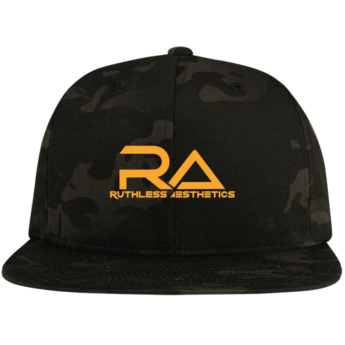 STC19 RA Flat Bill High-Profile Snapback Hat
