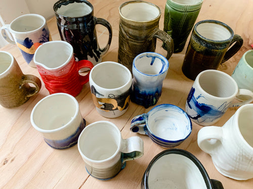 Spring 2020 Coffee Mug Workshops