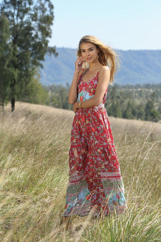 PRE ORDER - RAVENNAH MAXI DRESS - LOTUS