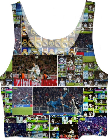 #cr7  crop top