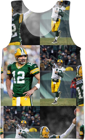 #AARONRODGERS #NFL tank top