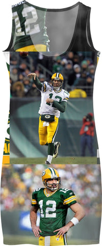 #AARONRODGERS #NFL #LAMBEAULEAP DRESS WOMENS SWAG