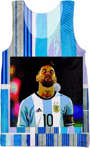 #MESSI #worldcup #Argentinasoccer  TANK TOP