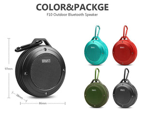 Waterproof Bluetooth Speaker w/ Clip - Millennials Merchandise