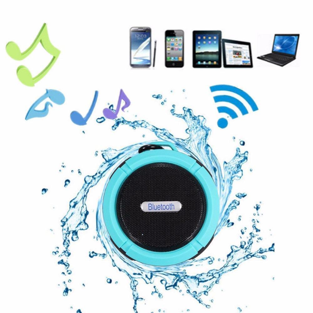 Waterproof Bluetooth Speaker w/ Suction - Millennials Merchandise