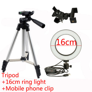 LED Ring Light w/ Tripod for Phone - Millennials Merchandise