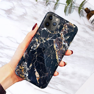 Marble Phone Cases For iPhone - Millennials Merchandise