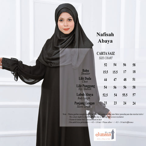 black abaya jumana exclusive