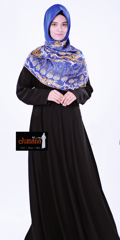 Plain Abaya - Umbrella cut