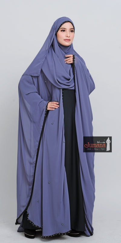 Abaya Farasha Double - Grey