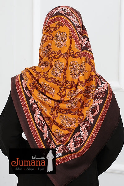 Shawl OTTOMAN VIBES - Gold Brown