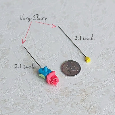 Big Rose set C - Hijab Pins