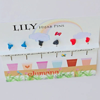Lily set C - Hijab Pins