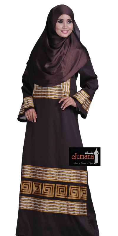 JUMANA Dark Brown size S only