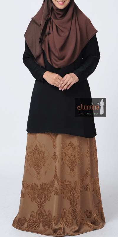 Hannan Skirt - Medium Brown