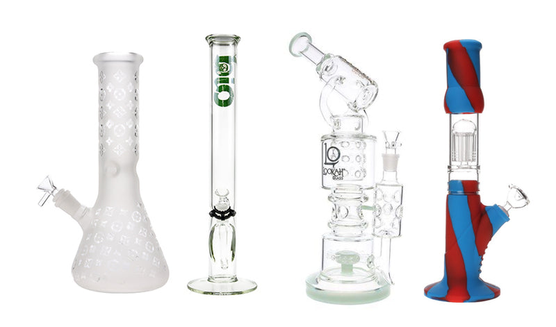 Different types of bongs, which one is right for you?
