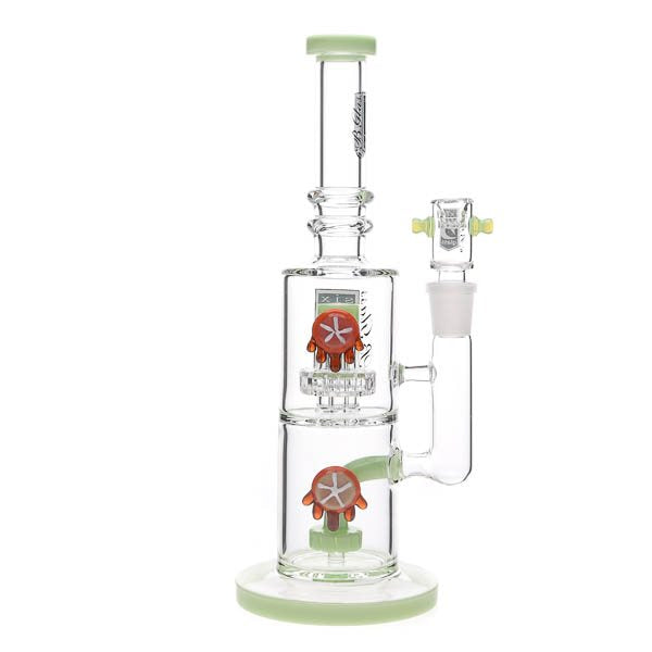 6B Glass Double Trouble Water Pipe