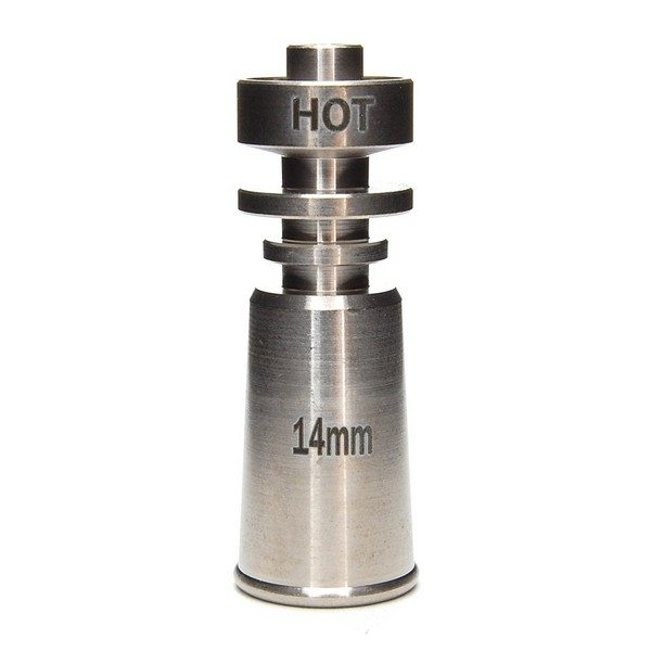 14mm Domeless Titanium Nail (Female)