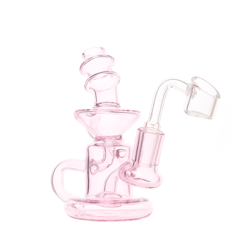 Pink Infusion Mini Recycler Rig