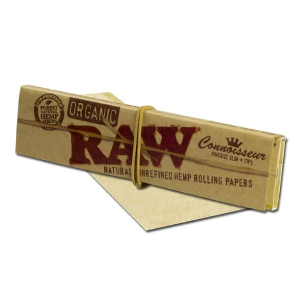RAW Organic Connoisseur Rolling Papers (King Size)