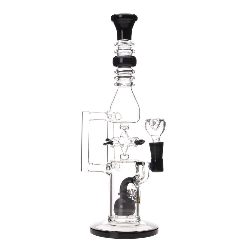 RB Glass Fidget Spinner Recycler Rig