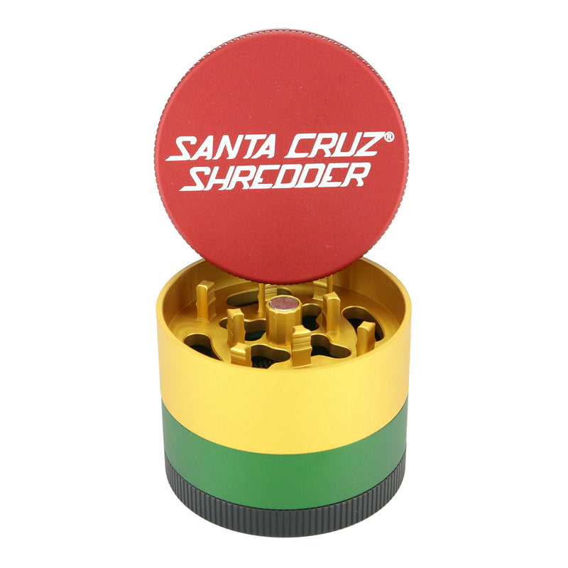 Santa Cruz Shredder Small 4 Piece Grinder