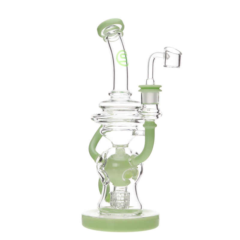 Sky High Glass Faberge Matrix Perc Recycler