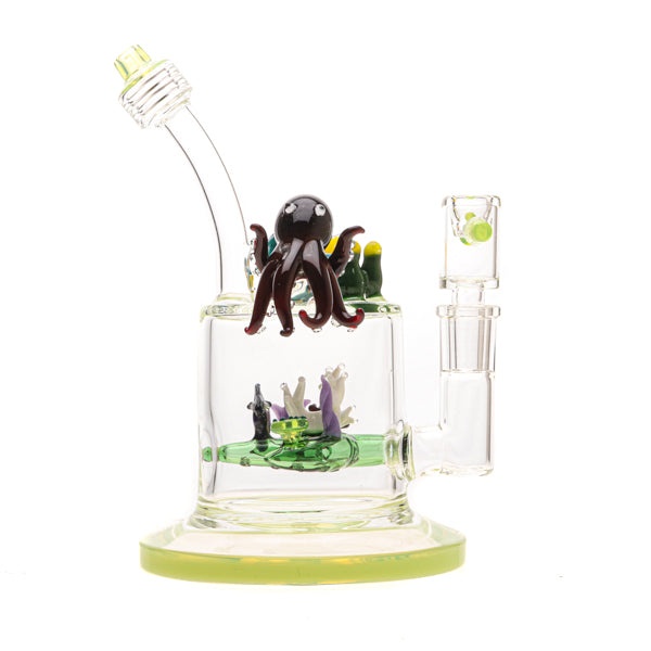 Bougie Glass Aqua Family Water Pipe 01