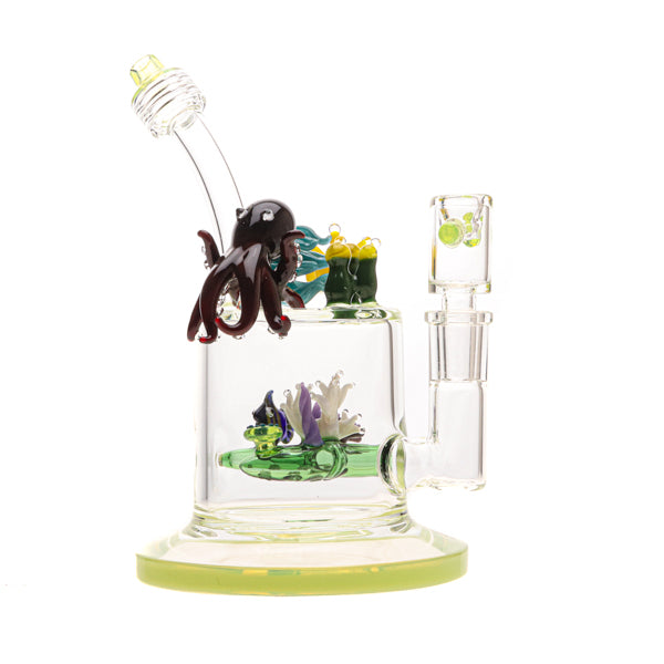 Bougie Glass Aqua Family Water Pipe 02