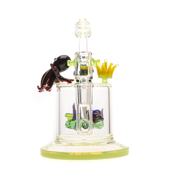 Bougie Glass Aqua Family Water Pipe 03