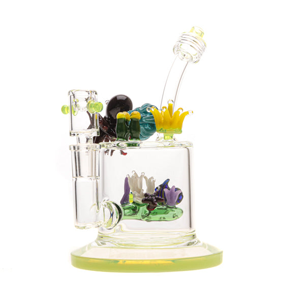 Bougie Glass Aqua Family Water Pipe 04