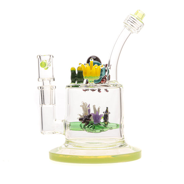 Bougie Glass Aqua Family Water Pipe 05