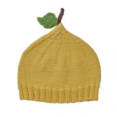 Acorn Lemon Knit Beanie Yellow