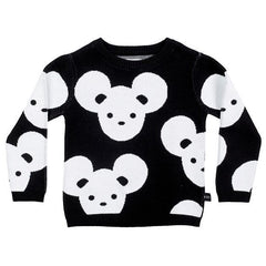 Huxbaby mouse knit jumper