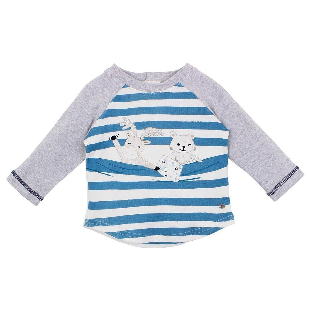 Bébé Alexander Stripe Animal Tee