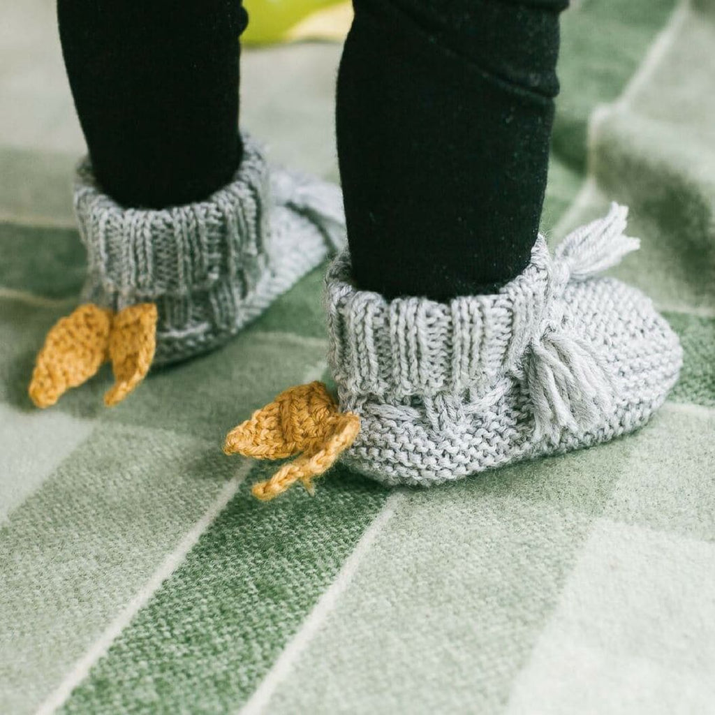 Acon Angel Wings Booties Baby Shoes