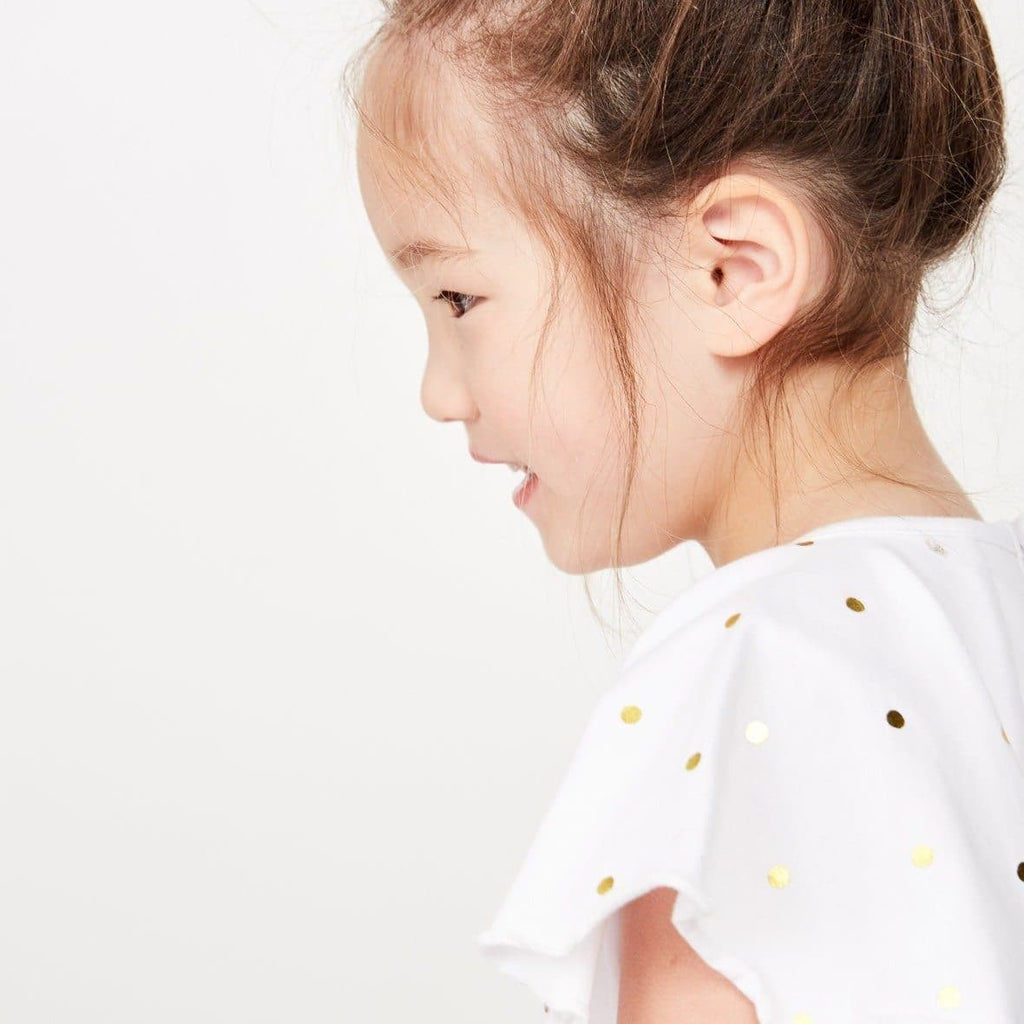 Angel Wings Tee (Milky Kids)