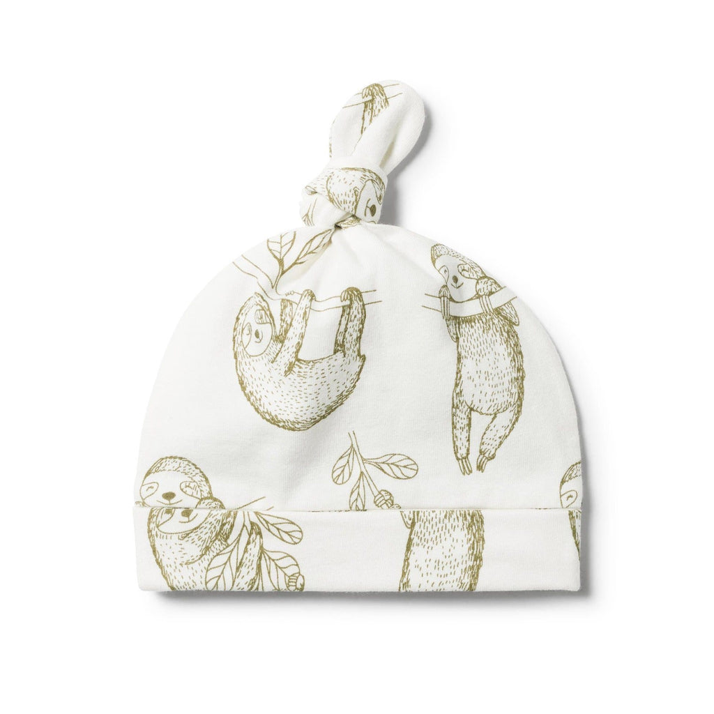 Wilson and Frenchy Baby Knot Hat