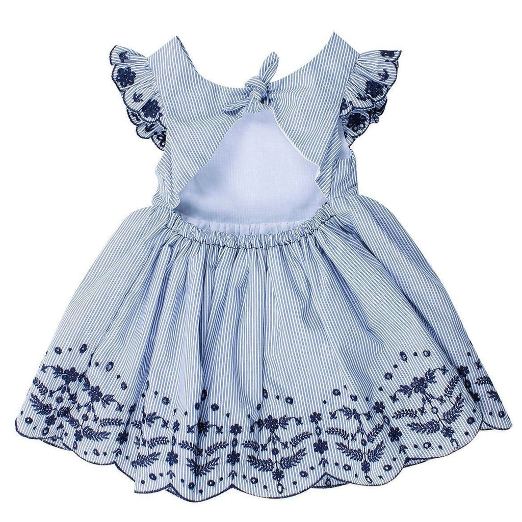 Bebe Betty Short Sleeve Dress with Back Bow