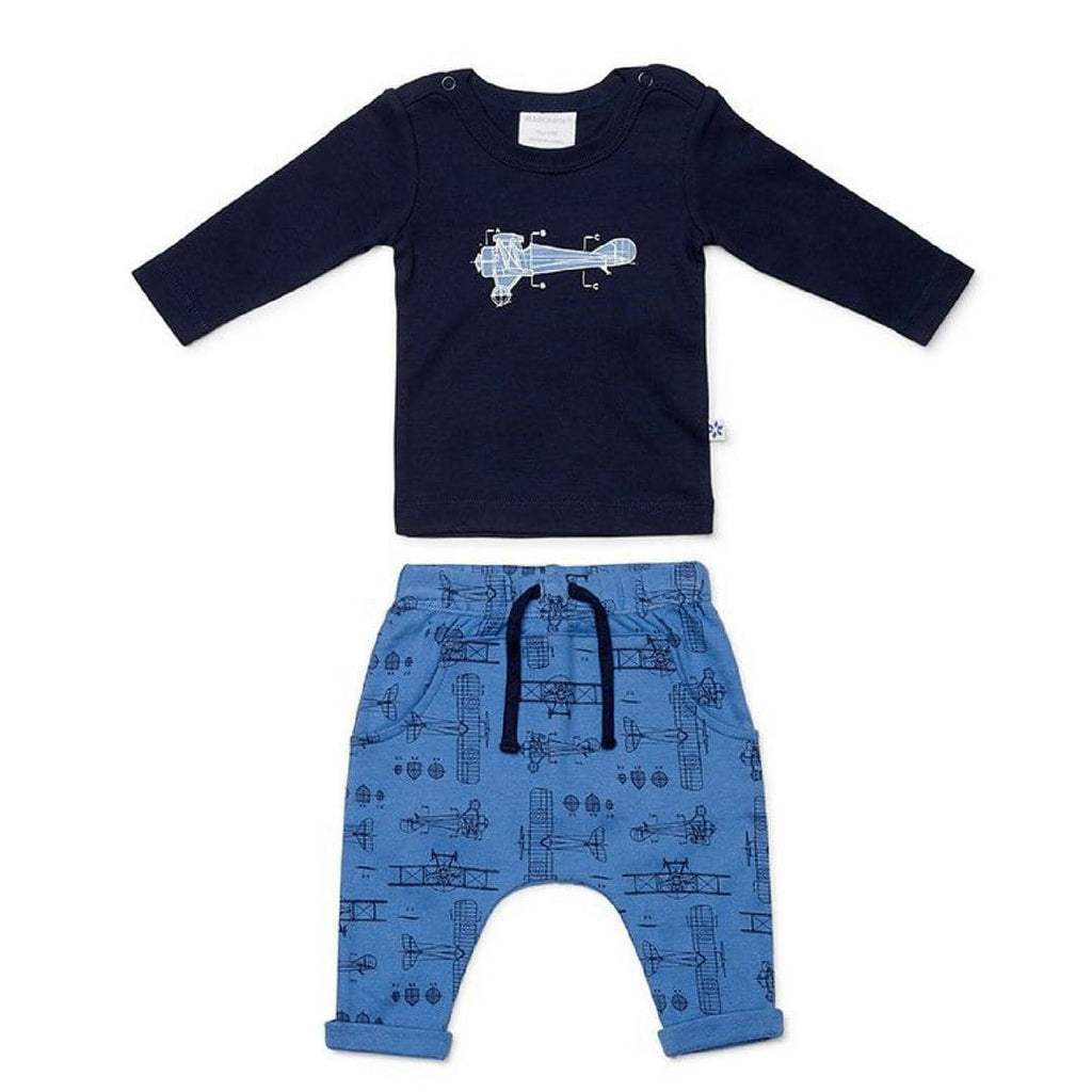 Blueprint Long Sleeve Top and Pants Set Baby Clothes Marquise 000