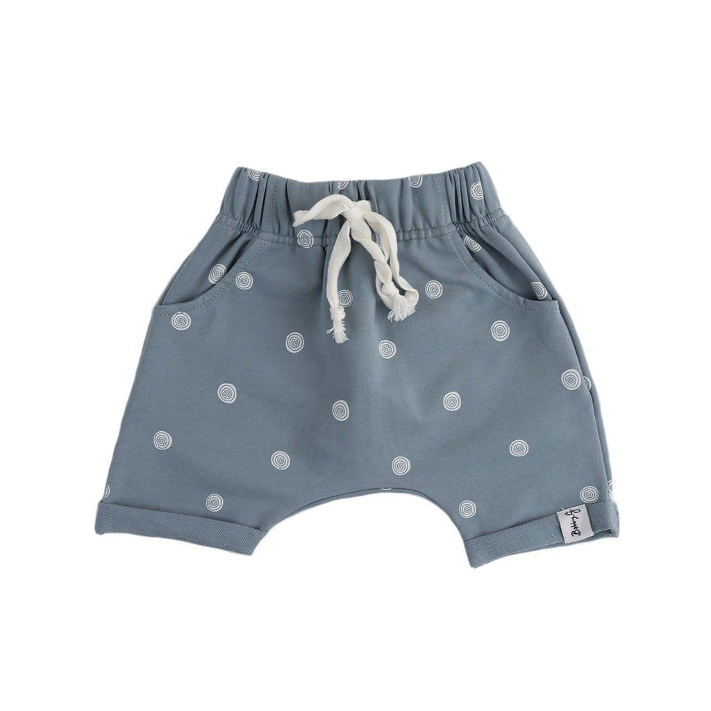 Bobby G Breeze Shorts - Dazzling Dusty Blue