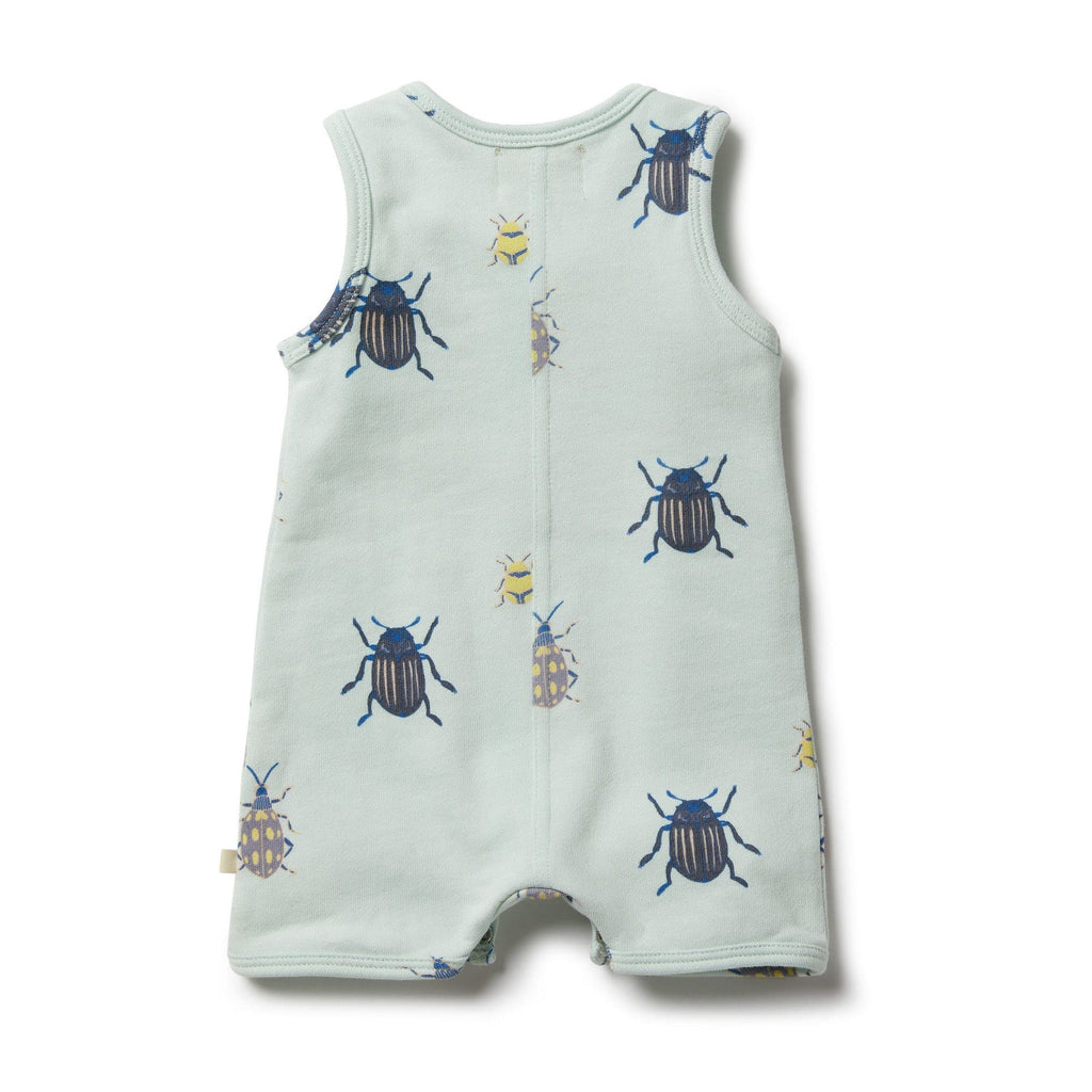 Wilson and Frenchy Bugs French Terry Growsuit